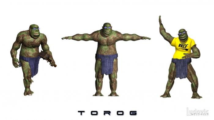 Torog 3d positions