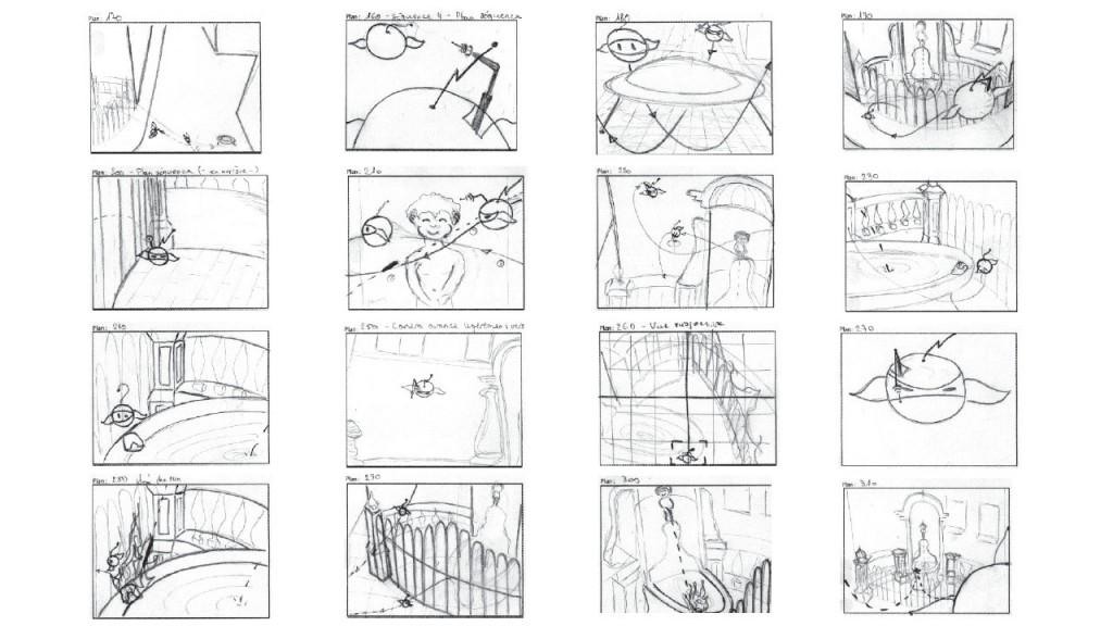 Manneken-pis storyboard