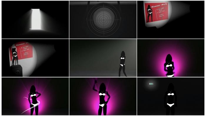 Night Club animation 3D