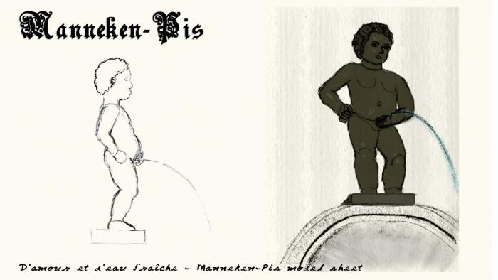 Manneken-pis dessin